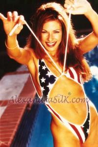 Alexandra Silk bikini